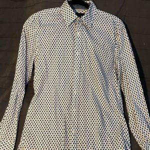 Michael Kors Men's Summer Dress Up Shirt